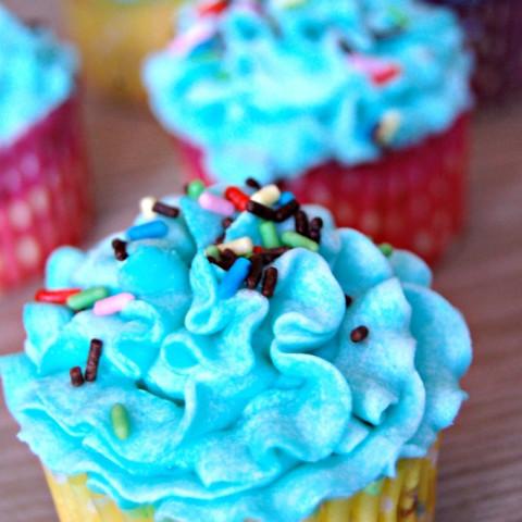 Dairy Free Soy Free Funfetti Cupcakes