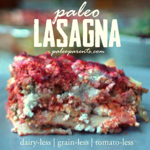 Dairy- & Grain- & Tomato-Less Lasagna
