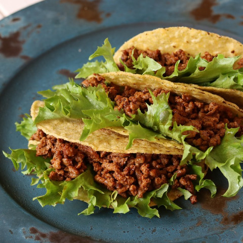 DASH Diet Day 100, Week 10, Beef Tacos