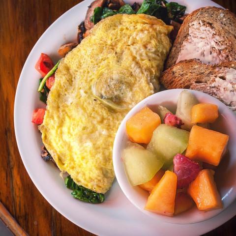 DASH Diet, Week 2, day 1 (Monday) Breakfast, Scrambled eggs