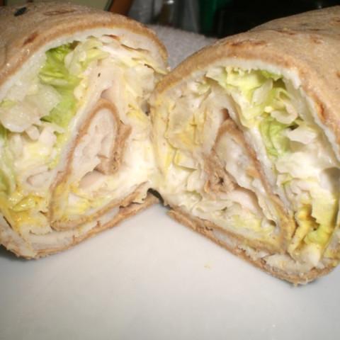 Delicious Turkey Wrap