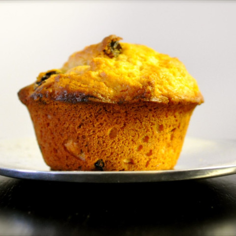 Delightful Orange Raisin muffins