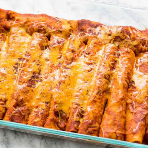 Del's Low Carb enchiladas