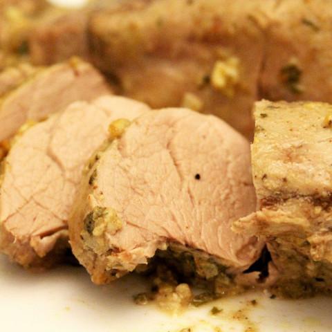 Dijon and Herb Pork Tenderloin