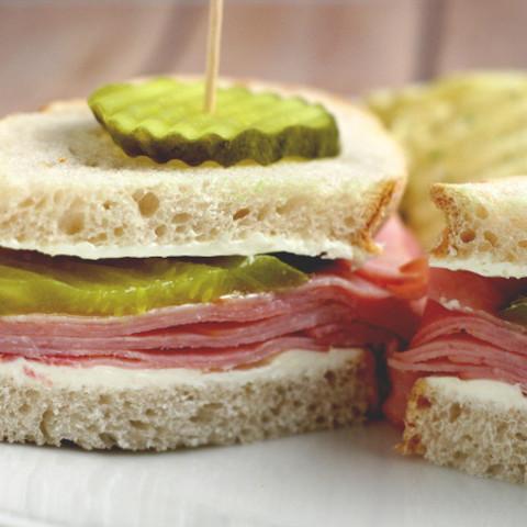Dill Pickle Ham Sandwich Recipe
