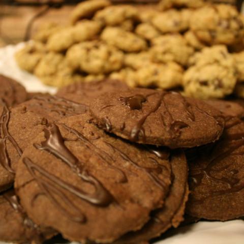 Double Chocolate Sugar Cookies