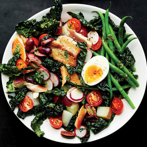 Dress Up an Easy Niçoise Salad With Smoked Trout