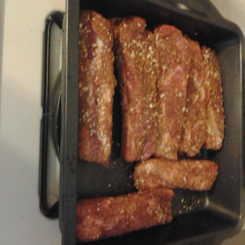 Dry Rub for Spare Ribs