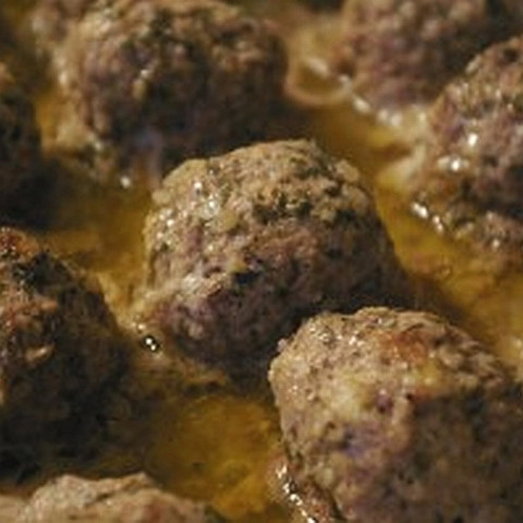 Easiest Ever Baked Meatballs