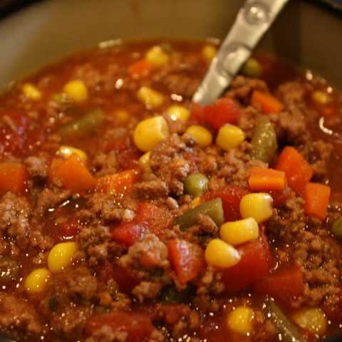 Easy Beef-Vegetable Soup