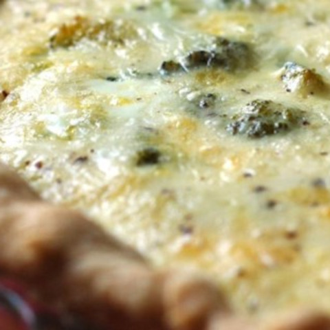 Easy Broccoli Quiche Recipe