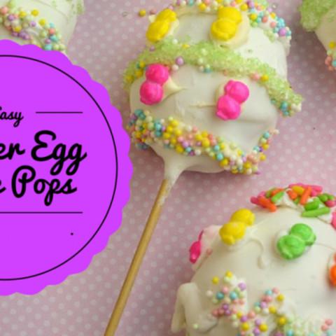 Easy Easter Egg Cake Pops