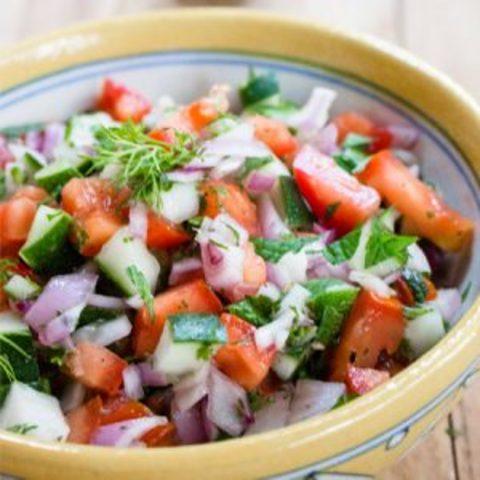 Easy Shirazi Salad