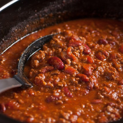 Easy Slow Cooker Chili