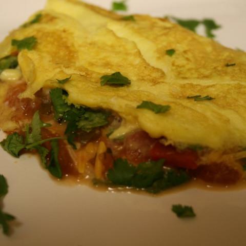 Easy Southwestern Omelet