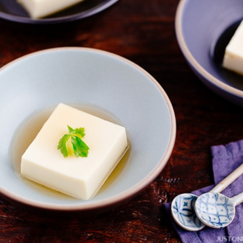 Egg Tofu (Tamago Tofu)