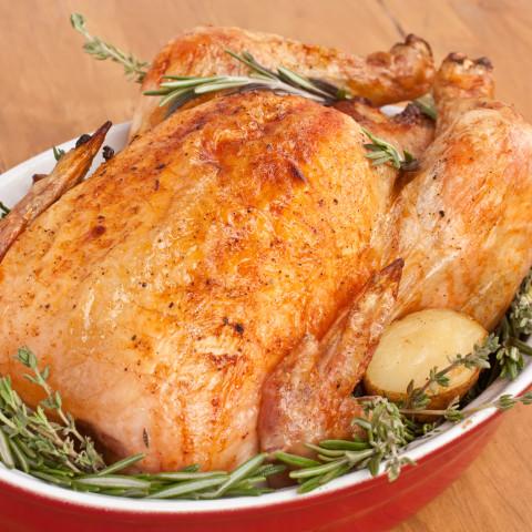 Emeril Brined and Roasted Turkey