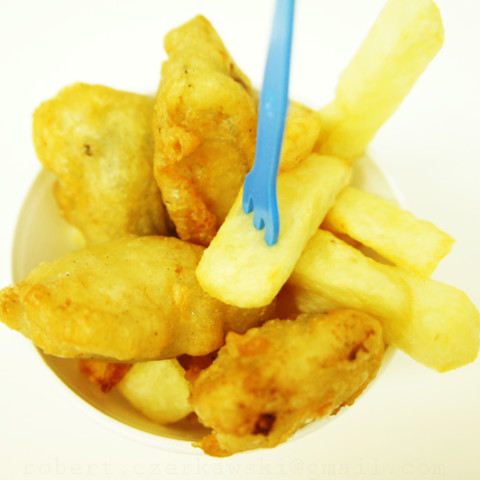 English-Style Fish N Chips