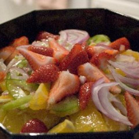 Ensalada De Naranjas Y Cebollas - (Orange And Onion Salad)