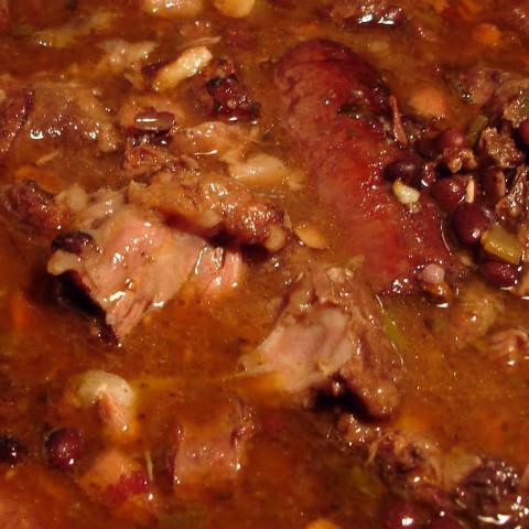 Feijoada - Brazilian Savory Meat & Bean Stew