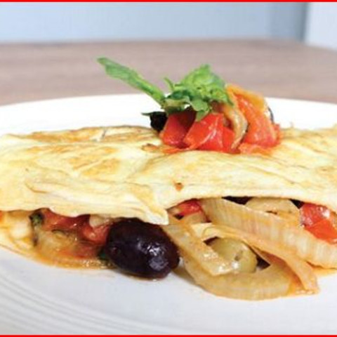 Fennel & Olive Omelet