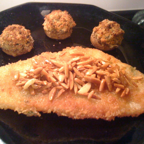 Filet of Flounder with Almonds
