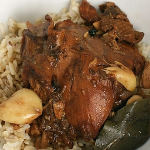 "Filipino ""adobo""-style Chicken"