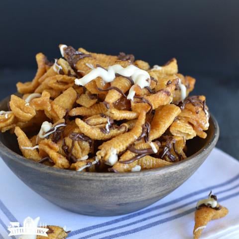 Five Minute Caramel Bugles