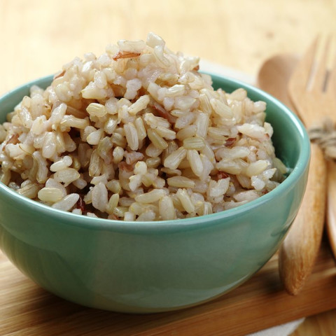 Foolproof Oven Baked Brown Rice