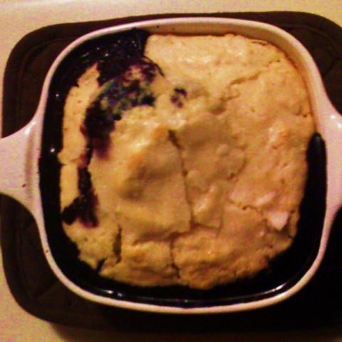 Fresh Blueberry Cobbler #2