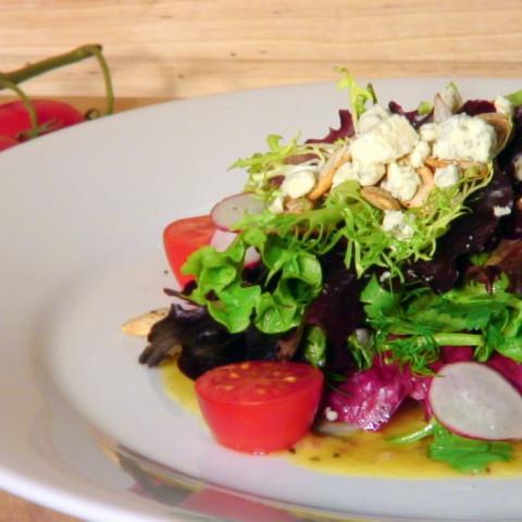 Fresh Herb Salad w/ Shallot & Truffle Vinaigrette