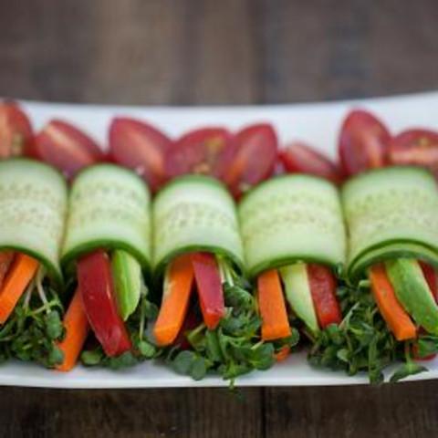 Fresh Veggie Summer Rolls
