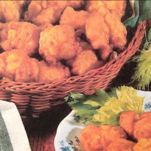 Fried Corn Nuggets