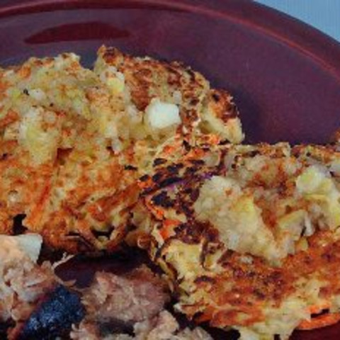 Fried Sauerkraut Cakes