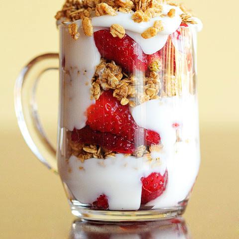 Fruity Breakfast Parfait