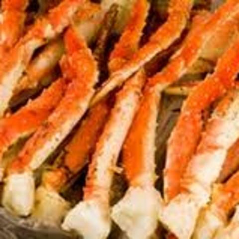 Garlic Butter Baked Crab Legs