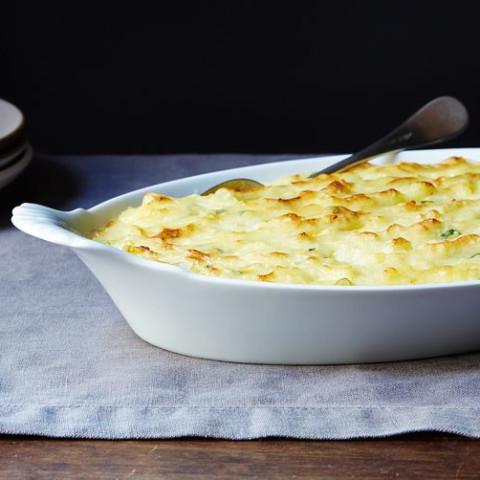 Garlic-Garlic Mashed Potatoes