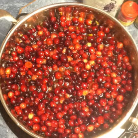 Ginger Cranberry Sauce