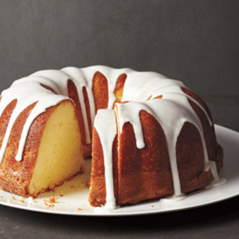 Lemon Pound Cake with Lemon Glaze | Syrup and Biscuits