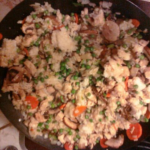 Gluten free, Dairy Free Chicken Fried Rice