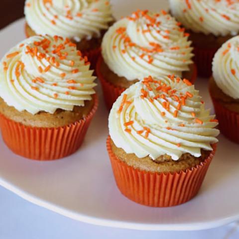 Gluten Free Vegan Carrot Cupcakes