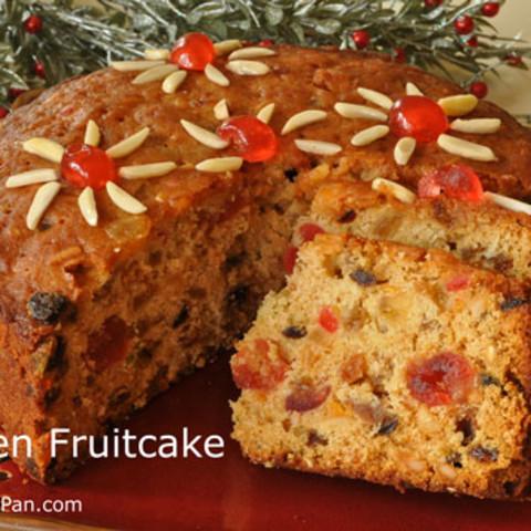 Golden Fruitcake