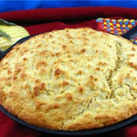 Golden Yellow Corn Bread