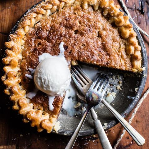 Gooey Chocolate Chip Cookie Pie