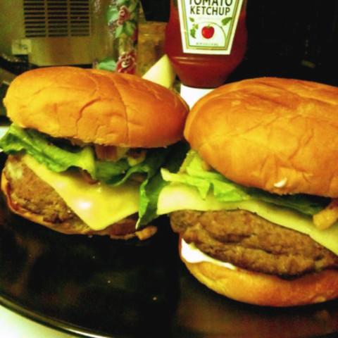 Gourmet Burgundy Burgers