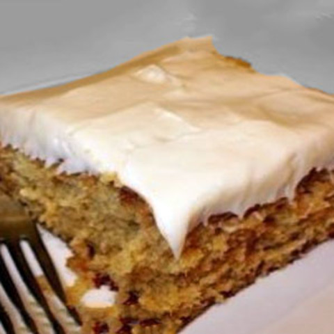 Graham Cracker Cake with Cream Cheese Frosting