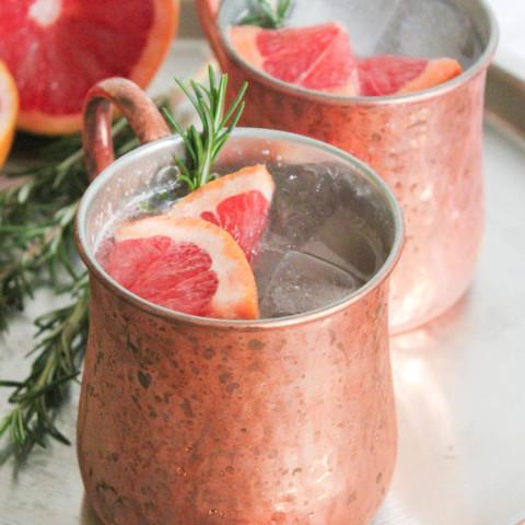 Grapefruit-Rosemary Mule