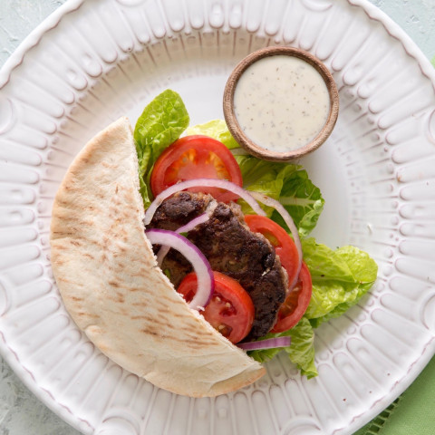 Greek Gyro Burgers
