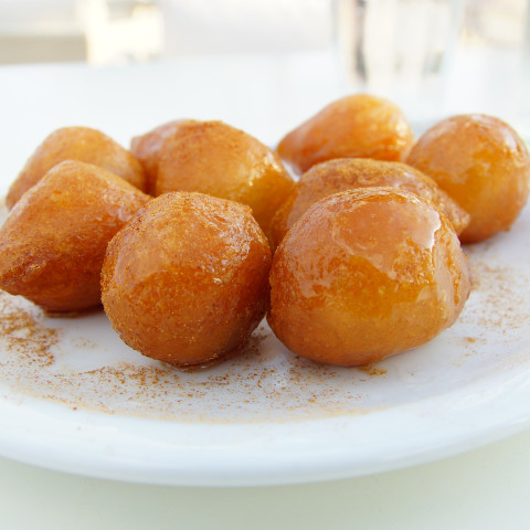 Greek Honey Puffs - Loukoumades