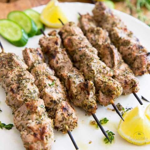 Greek Pork Souvlaki
